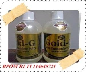 Obat Herbal Infeksi Rahim Tradisional nan lami dengan JELLY GAMAT GOLD-G